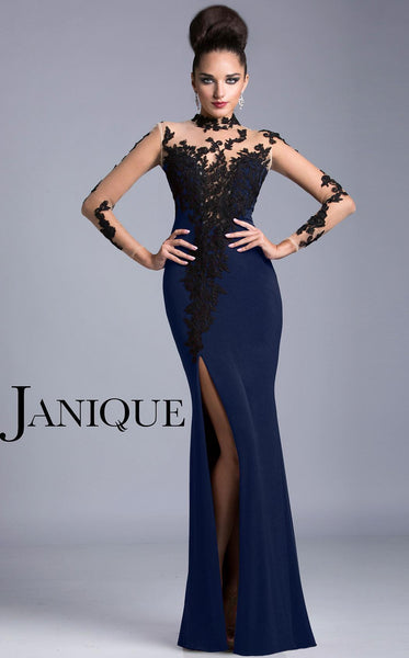 Janique K6404 Navy/Black