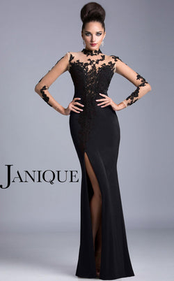 Janique K6404 Black/Black