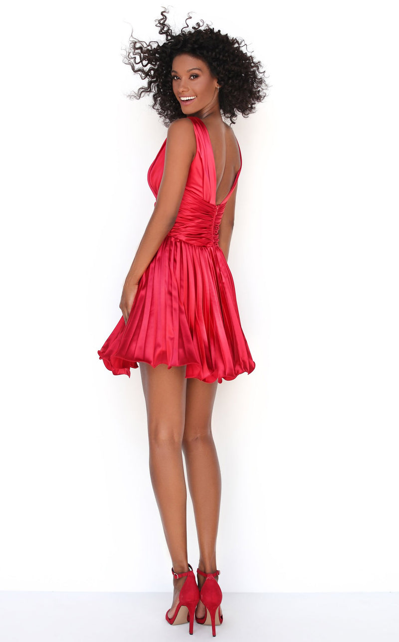 Tarik Ediz 50601 Dress Red