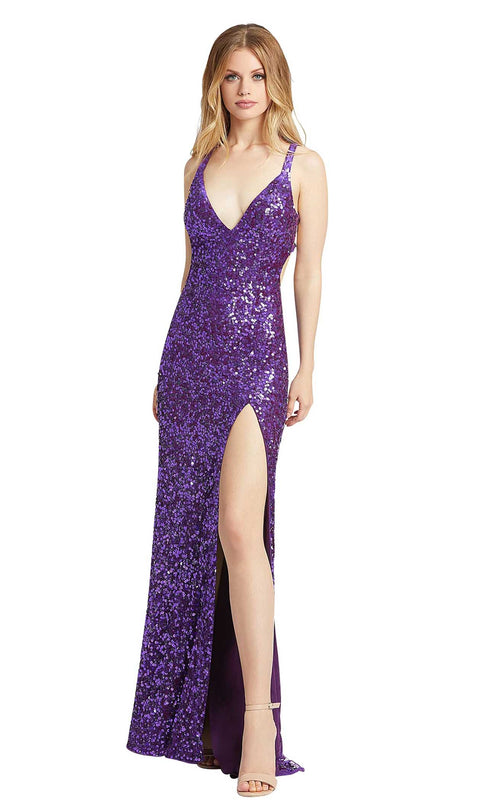 Mac Duggal 5066L Purple