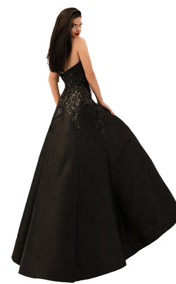 Tarik Ediz 50695 Dress Black