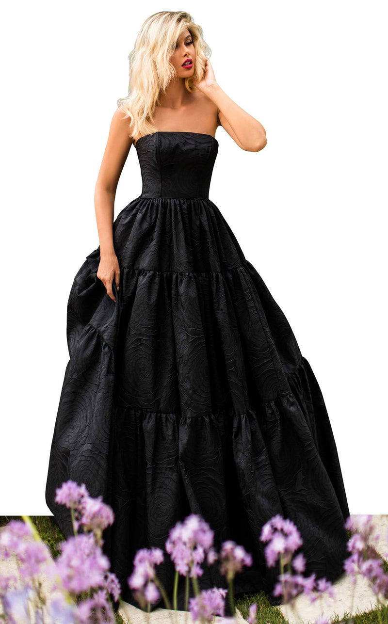 Tarik Ediz 50759 Dress Black