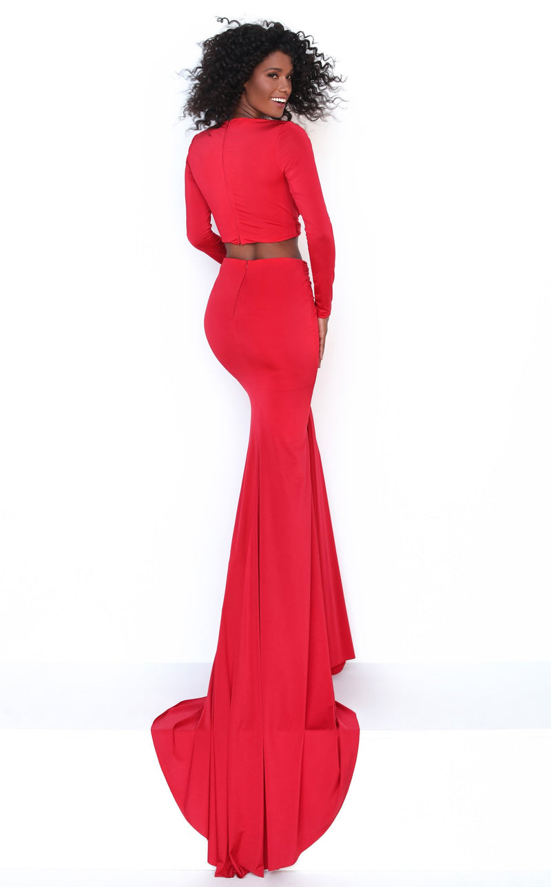 Tarik Ediz 50771 Dress Red