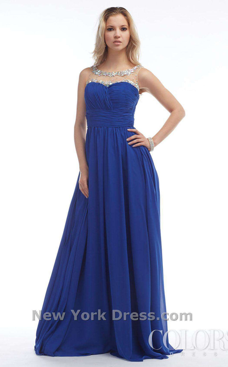 Colors Dress 0766 Royal