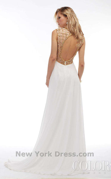 Colors Dress 1103 Off White/Gold