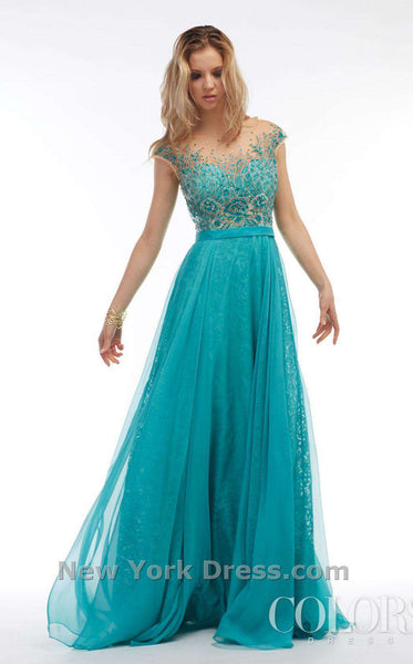 Colors Dress 1105 Aruba Blue