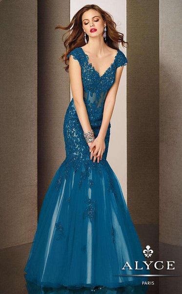 Alyce 5626 Blue Coral