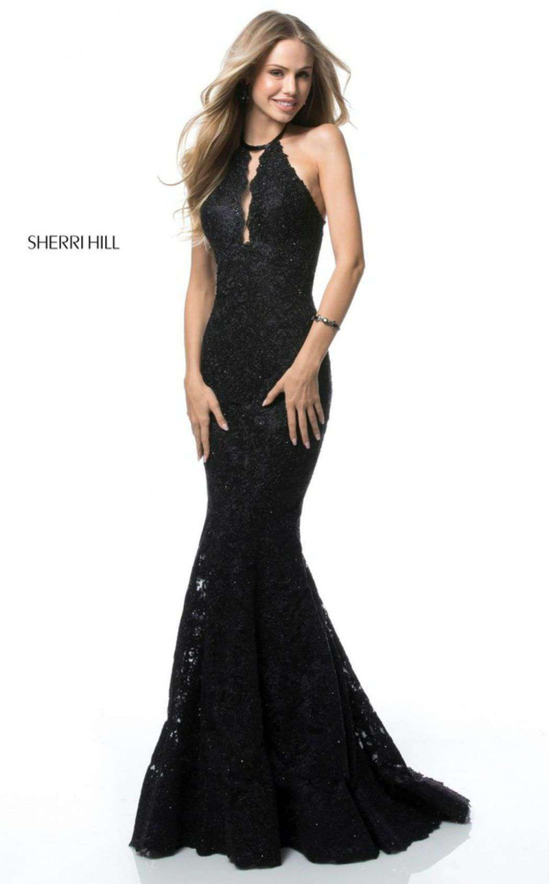 Sherri Hill 51995 Black
