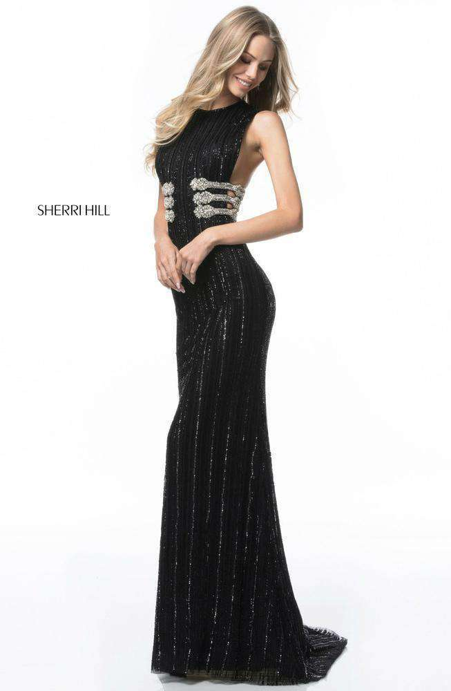 Sherri Hill 52051 Black