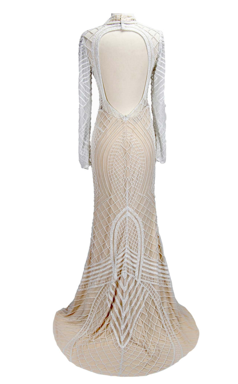 Paul Rekhi 5206 Dress Ivory