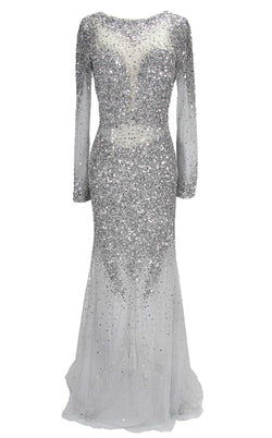 Paul Rekhi 5228 Dress Silver