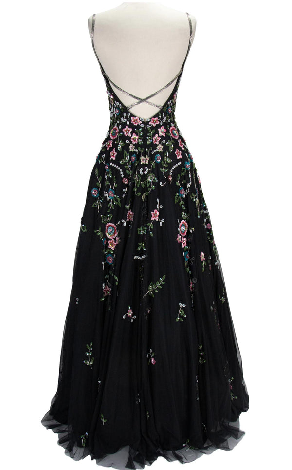 Paul Rekhi 5233 Dress Black-Multi