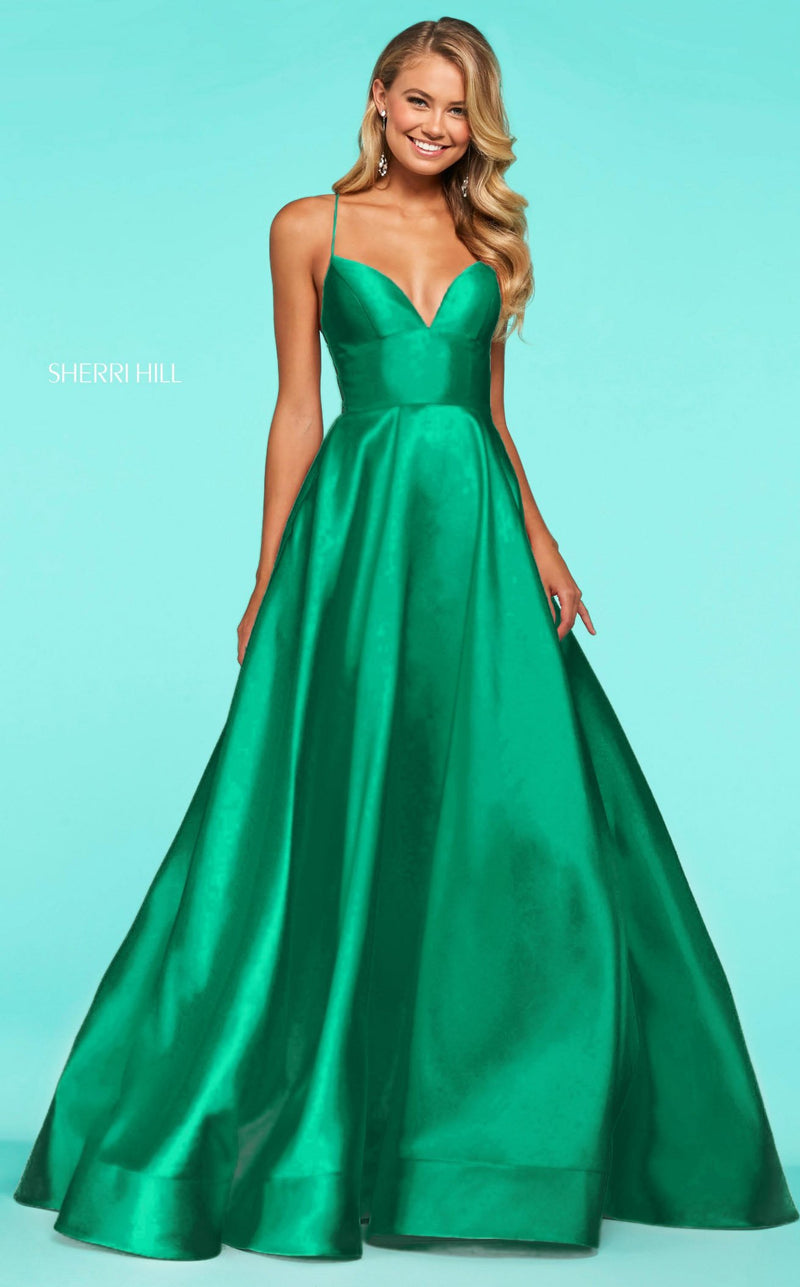 Sherri Hill 53661 Emerald