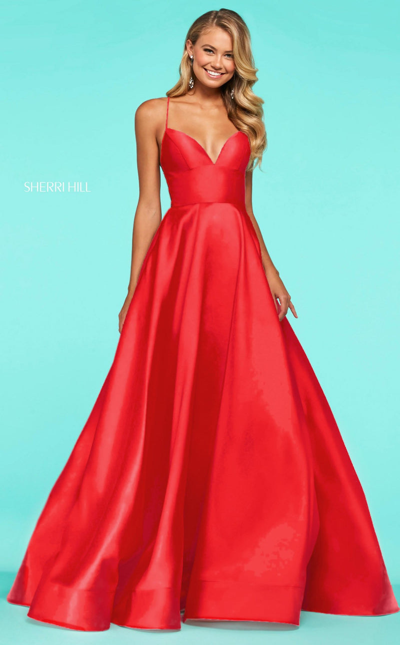 Sherri Hill 53661 Red