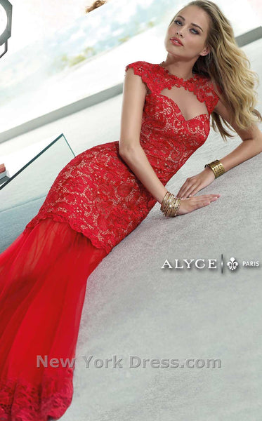 Alyce 2401 Red/Nude