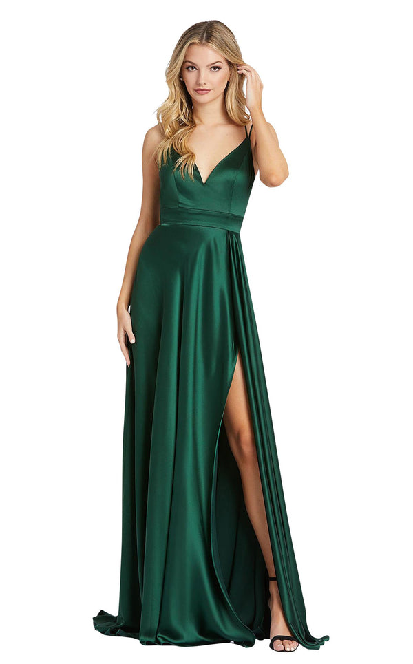 Mac Duggal 55278i Bottle-Green