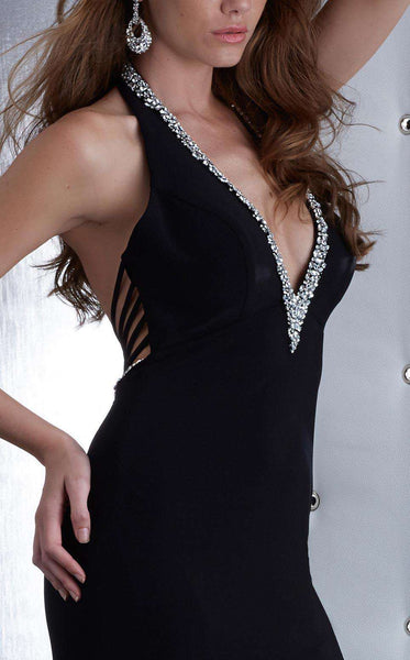 Jasz Couture 5437 Black/Silver