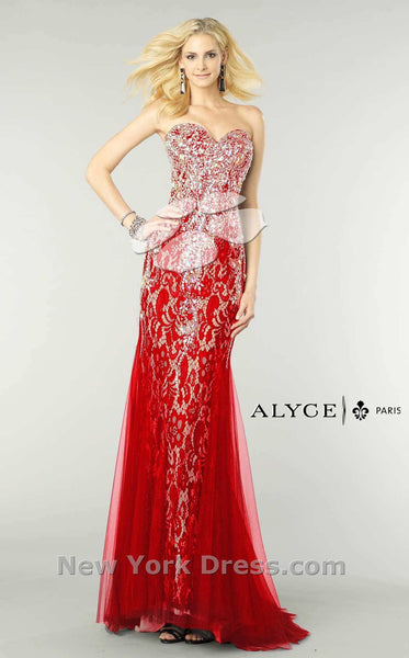 Alyce 6390 Red/Nude