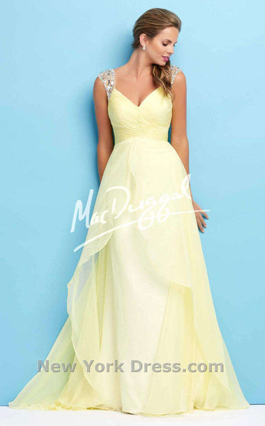 Mac Duggal 65122L Lemon
