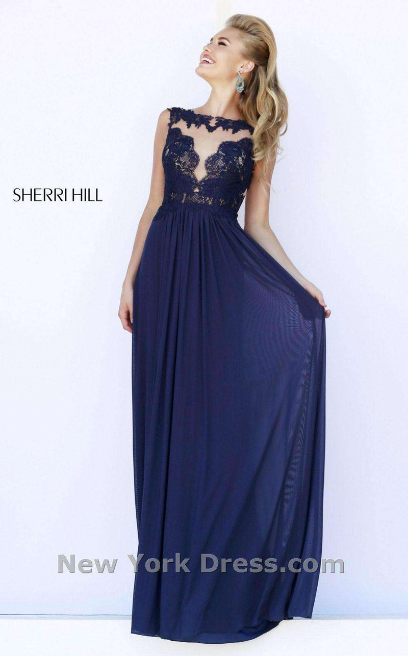 Sherri Hill 5207 Navy
