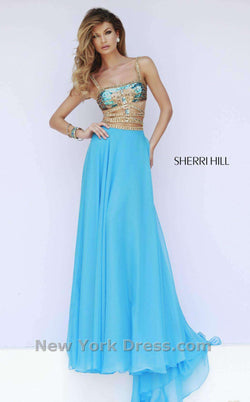 Sherri Hill 32134 Blue