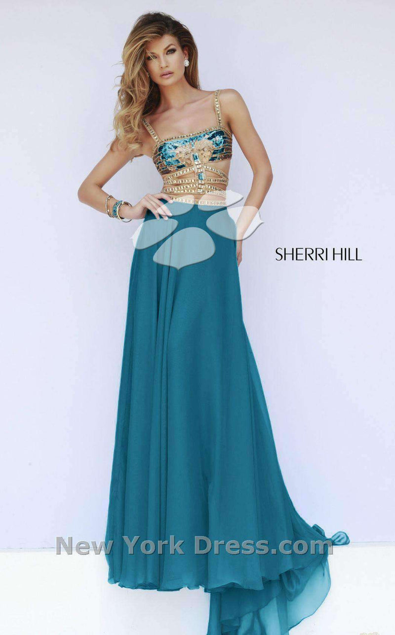 Sherri Hill 32134 Teal