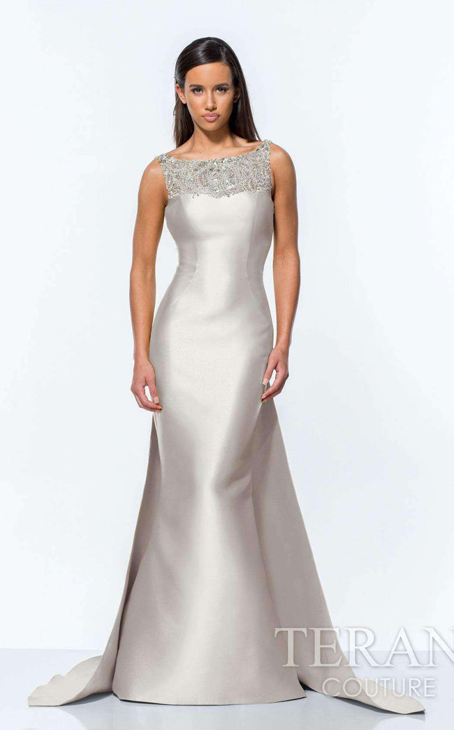 Terani Couture Gowns Dresses Light Gold Black Navy Blue