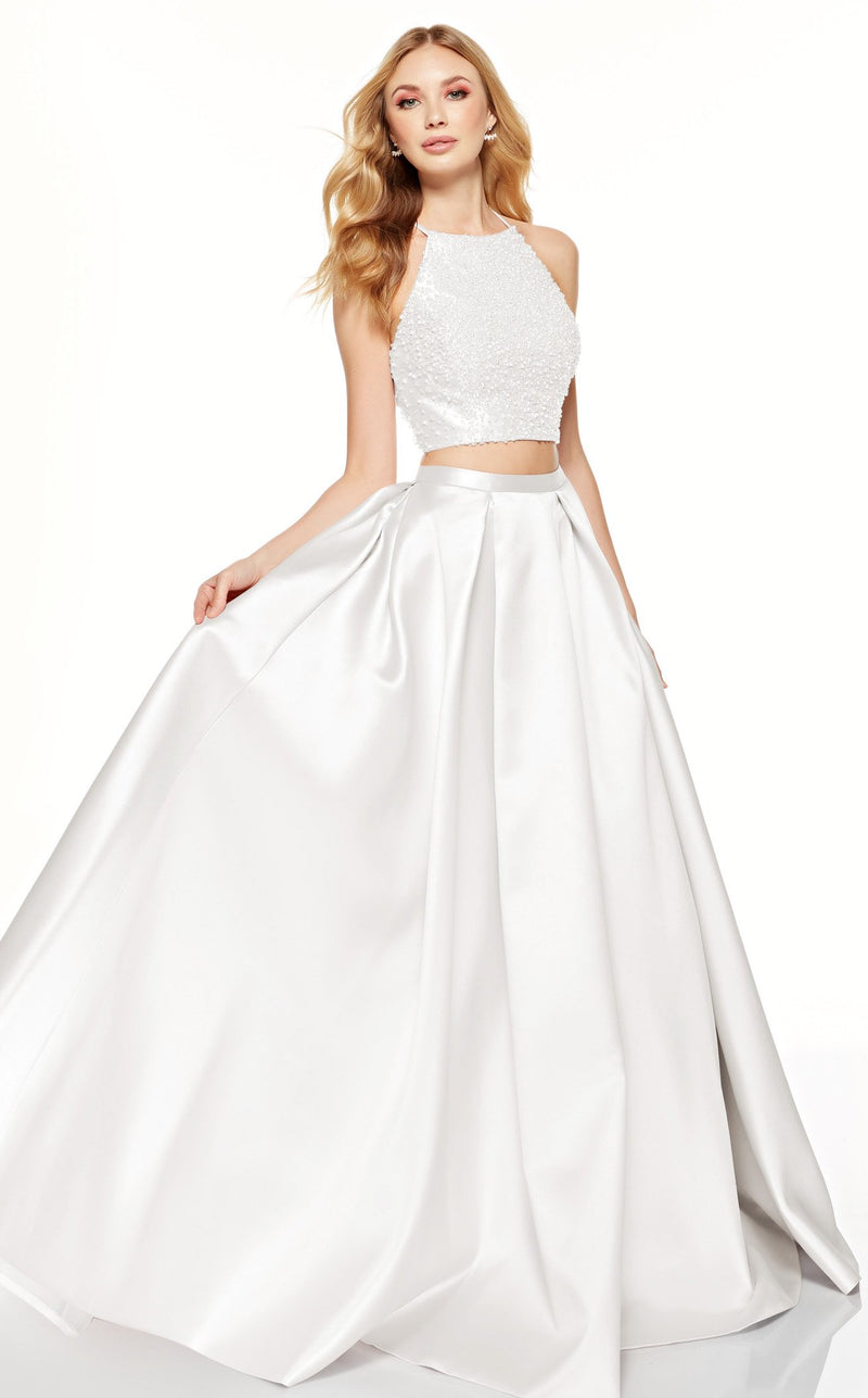 Alyce 60620 Dress Diamond-White