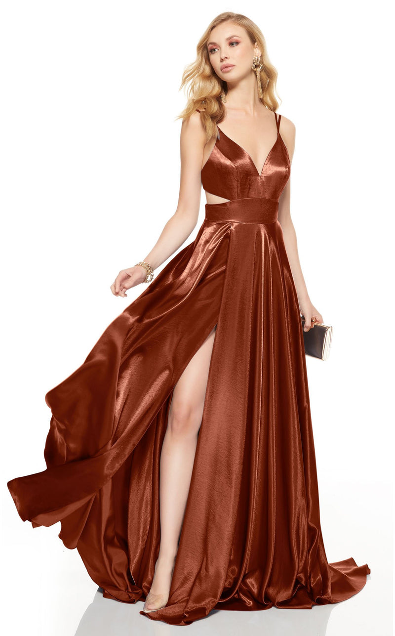 Alyce 60625 Dress Cinnamon