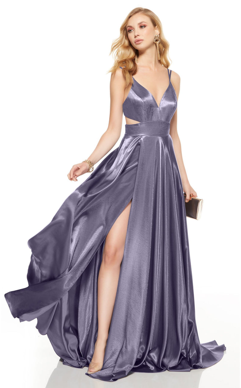 Alyce 60625 Dress Lilac-Grey