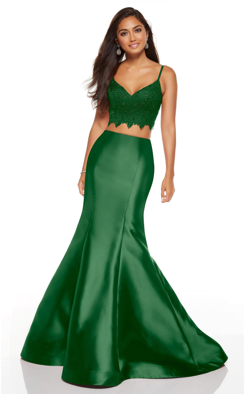 Alyce 60633 Dress Emerald