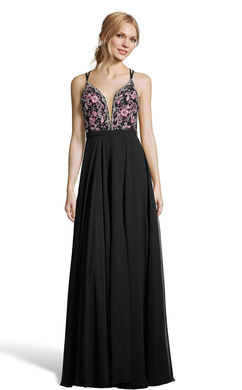 Alyce 60636 Dress Black-Pink