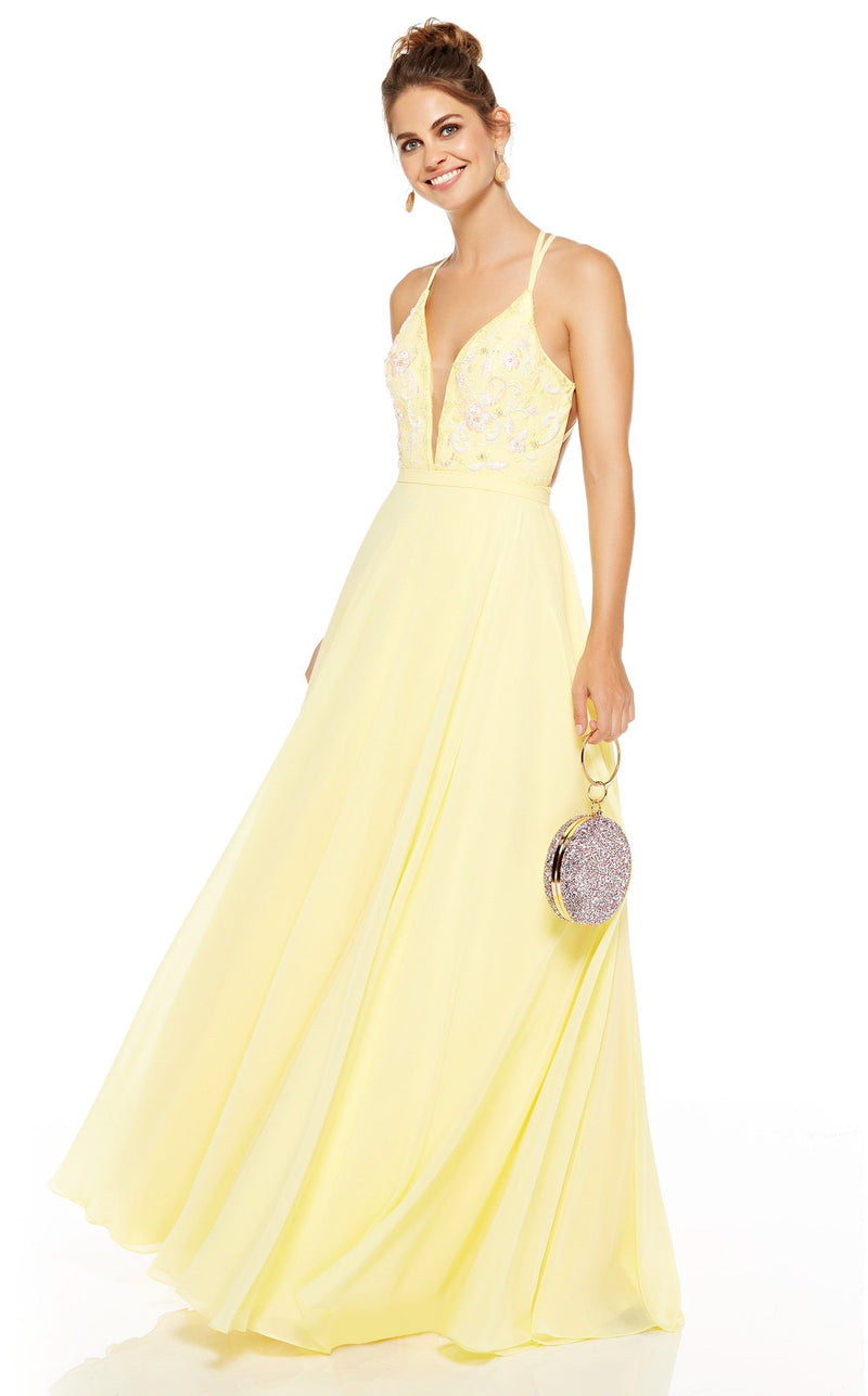 Alyce 60636 Dress Lemon-Drop