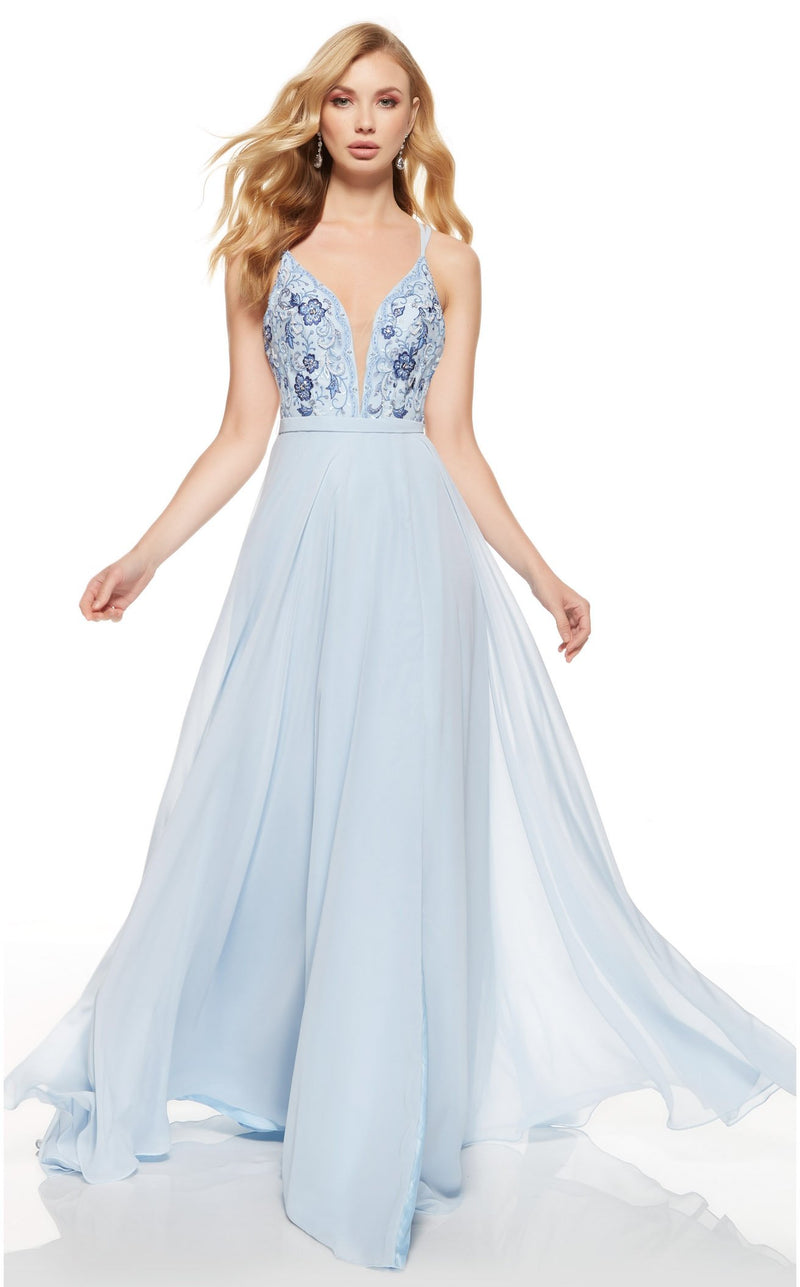 Alyce 60636 Dress Silver-Lake