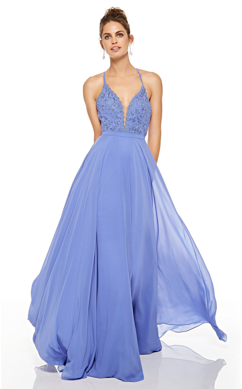 Alyce 60637 Dress Blue-Iris