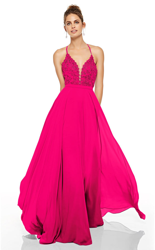 Alyce 60637 Dress Hot-Pink