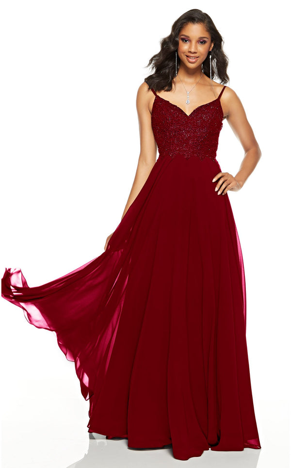 Alyce 60638 Dress Wine