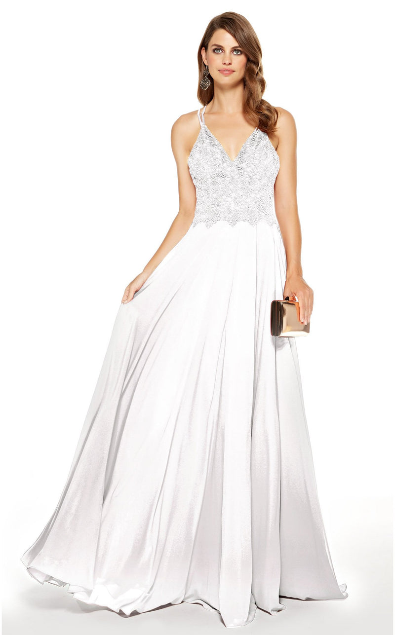 Alyce 60639 Dress Diamond-White
