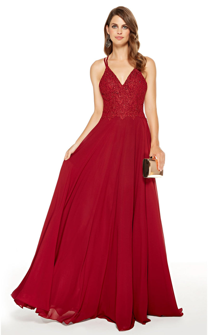 Alyce 60639 Dress Wine