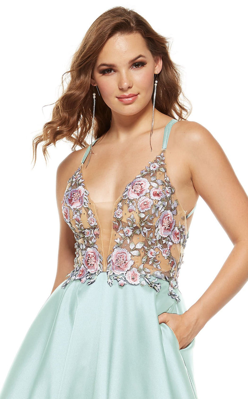 Alyce 60643 Dress Sea-Glass