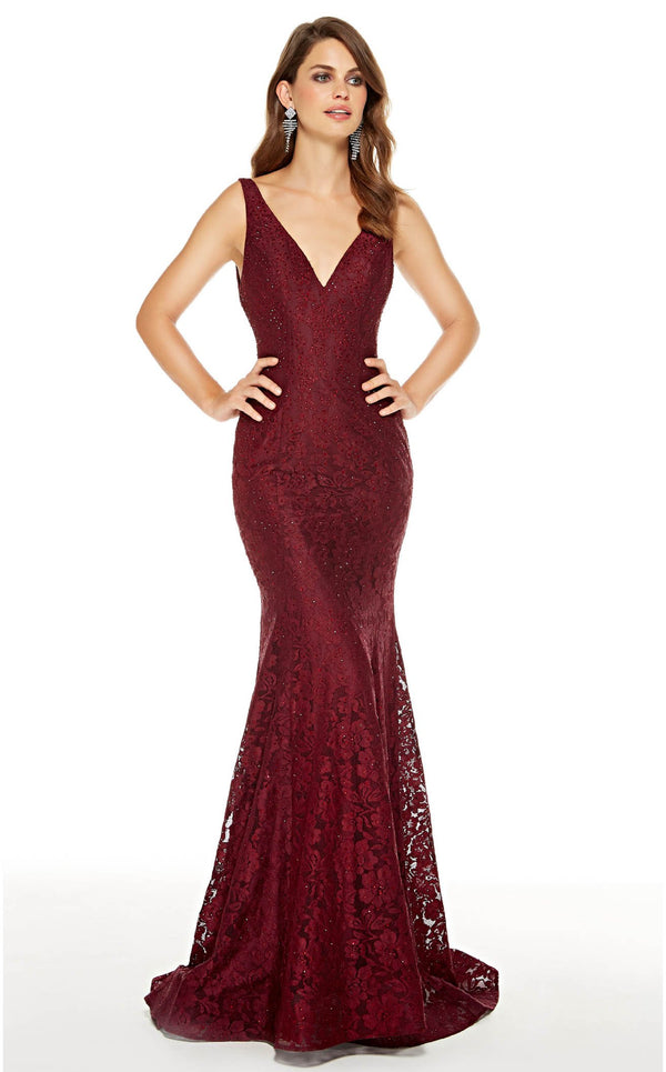Alyce 60654 Dress Wine