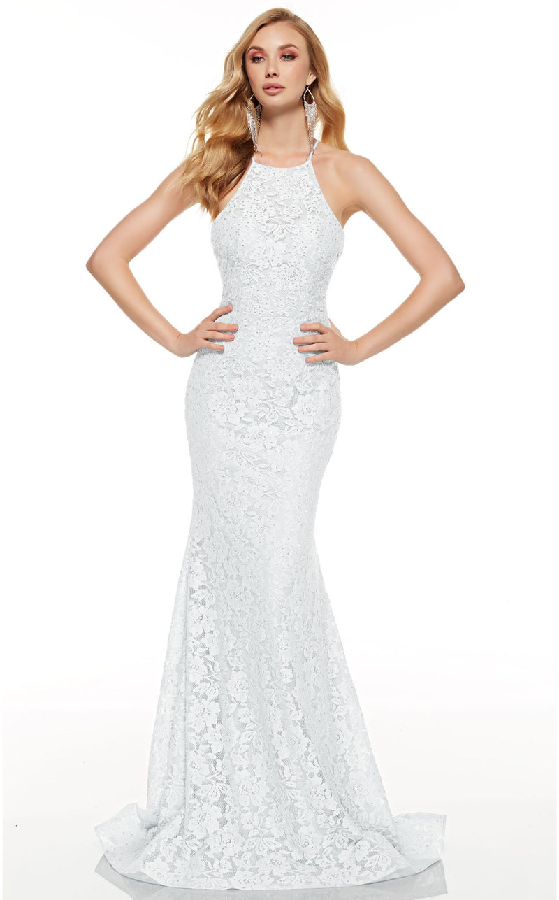Alyce 60655 Dress Diamond-White