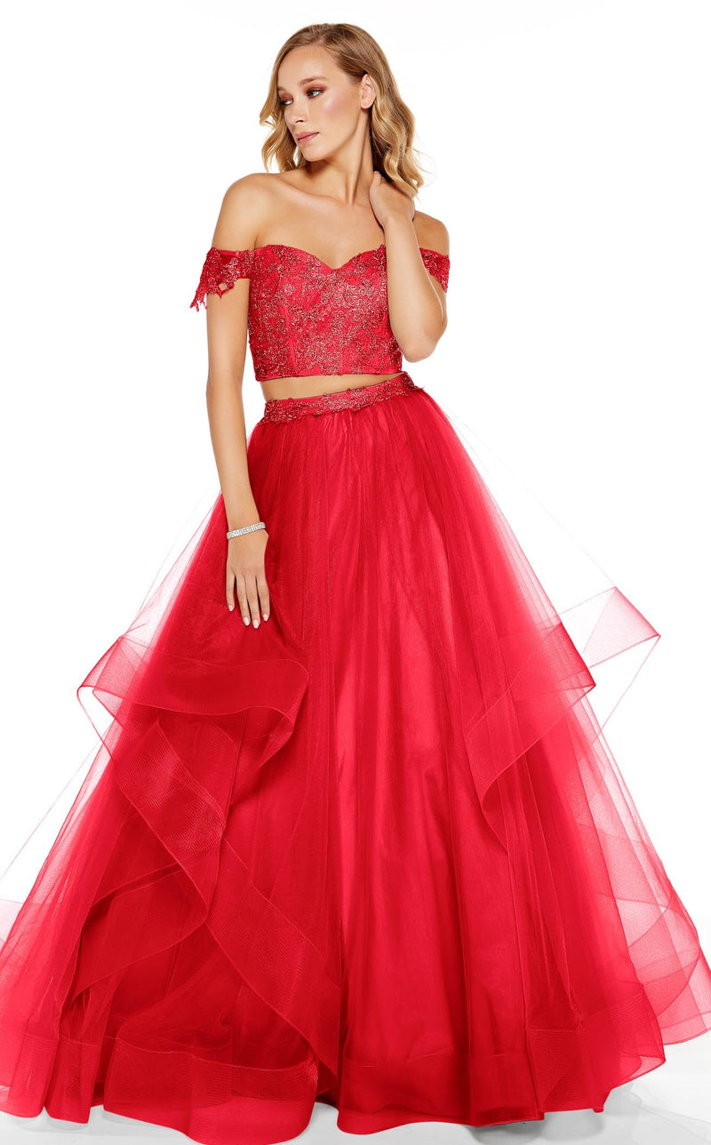 Alyce 60670 Dress Red