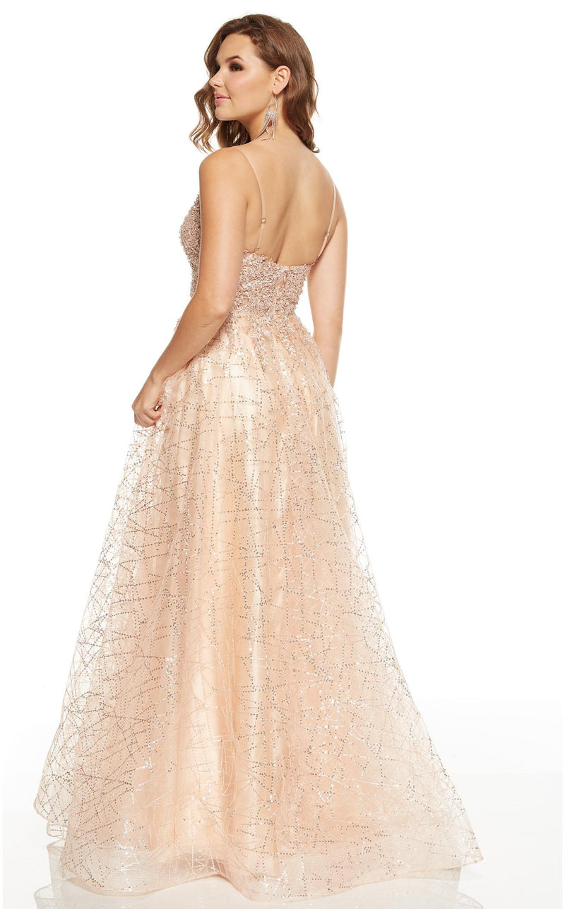 Alyce 60683 Dress Champagne