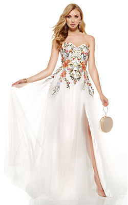Alyce 60699 Dress Diamond-White-Multi
