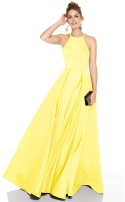 M 60715 Dress Yellow