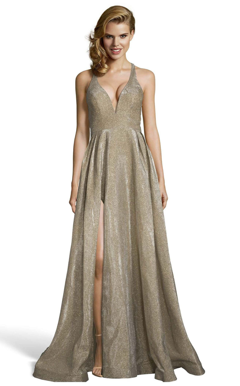 Alyce 60722 Dress Antique-Gold