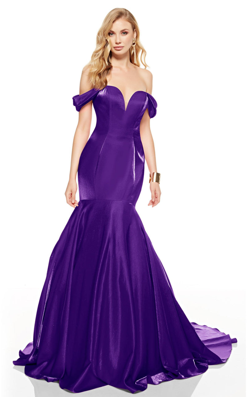 Alyce 60748 Dress Cobalt