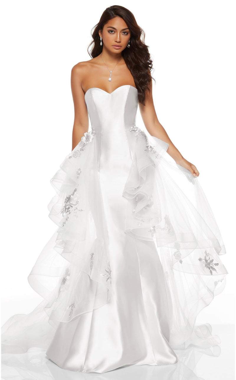 Alyce 60758 Dress Diamond-White
