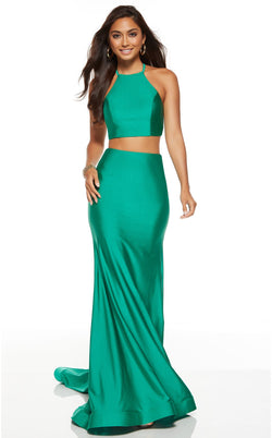 Alyce 60772 Dress Emerald